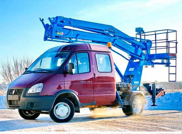 автовышка-gaz 33023 пмс212-02